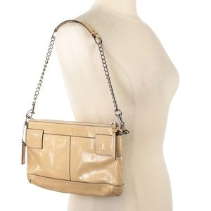 Coach Bags - Cream Patent Leather Coach Bag